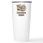 Chihuahua Mom Ceramic Travel Mug