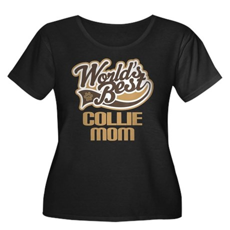 Collie Mom (Worlds Best) Women's Plus Size Scoop N