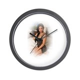 Cool Lingerie Wall Clock