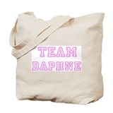 Pink team Daphne Tote Bag