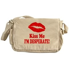 Kiss Me Messenger Bag