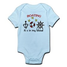 Boating Infant Bodysuit