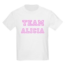 Pink team Alicia Kids T-Shirt