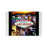 Cute Las vegas Rectangle Magnet