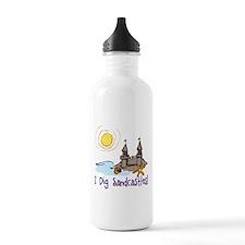 I Dig Sandcastles Water Bottle