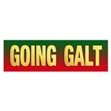 GOING GALT bumper Bumper Bumper Sticker