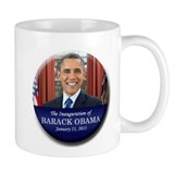 Barack Obama 2013 Presidential Inauguration Small Mug