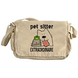 Pet Sitter Extraordinaire Messenger Bag