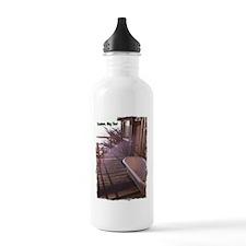 Esalen tub on room deck Water Bottle