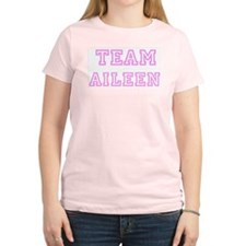 Pink team Aileen Women's Pink T-Shirt