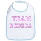 Pink team Rebeca Bib