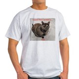 Riley-I support Blind Cat Rescue  T-Shirt