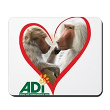 Tilin and Tina Valentine Mousepad