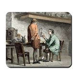 Halle and von Humboldt, Paris 1798 - Mousepad