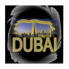 i love dubia art illustration Tile Coaster