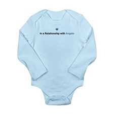Angelo Relationship Long Sleeve Infant Bodysuit