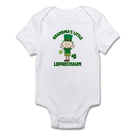Grandma's Little Leprechaun Infant Bodysuit