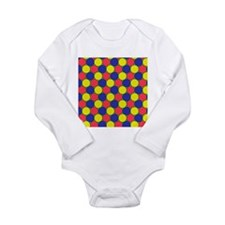 Uniform tiling pattern - Long Sleeve Infant Bodysu
