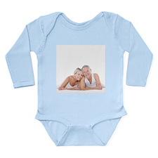 Happy senior couple - Baby Suit