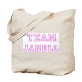 Pink team Janell Tote Bag