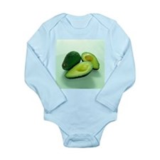 Avocados - Long Sleeve Infant Bodysuit