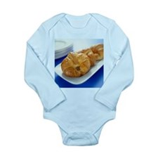 Croissants - Long Sleeve Infant Bodysuit