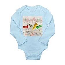 DNA analysis - Long Sleeve Infant Bodysuit
