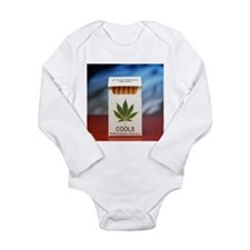 Legal marijuana - Long Sleeve Infant Bodysuit