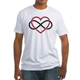 Infinity heart, never ending love Shirt