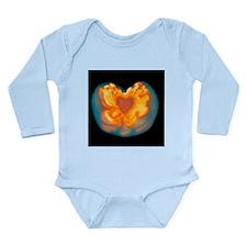 Supernova explosion - Long Sleeve Infant Bodysuit