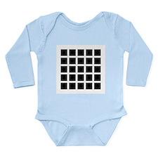 Hermann grid - Long Sleeve Infant Bodysuit