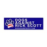 Dog paw Car Magnets