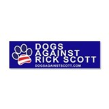 "Dogs Against Rick Scott ""Paw"" magnet"