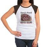 Don't Feed Grizzly Bears They Women's Cap Sleeve T