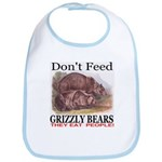 Don't Feed Grizzly Bears They Bib