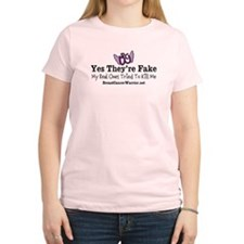Yes Theyre Fake Tshirt T-Shirt T-Shirt