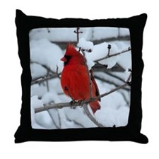 Cute Snow watch Throw Pillow