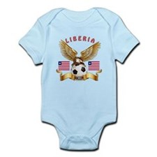 Liberia Football Design Infant Bodysuit