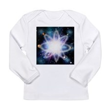 Quantised orbits of the planets - Long Sleeve Infa
