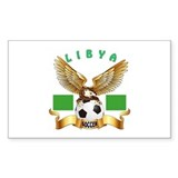 Libya Football Design Decal