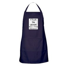 i teach Apron (dark)