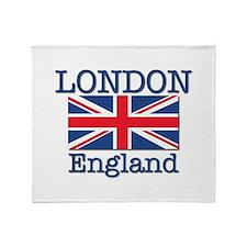 London England Throw Blanket