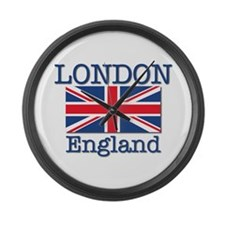 London England Large Wall Clock