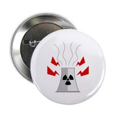"Radioactive Nuclear Plant 2.25"" Button"