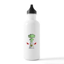 Nuke Plant Radiation Sports Water Bottle