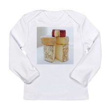 Cheese selection - Long Sleeve Infant T-Shirt