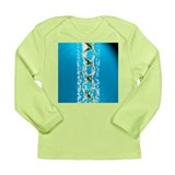 DNA and autoradiogram - Long Sleeve Infant T-Shirt