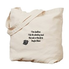 Cute Hitchhikers guide to the galaxy Tote Bag