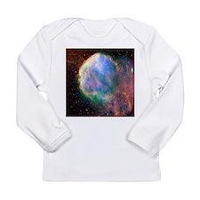 Supernova remnant IC 443, composite image - Long S
