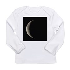 Waning crescent Moon - Long Sleeve Infant T-Shirt